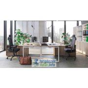 EXTEND 2F fémlábas íróasztalok