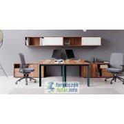 EXTEND 3F fémlábas íróasztalok