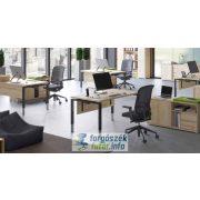 EXTEND 4F fémlábas íróasztalok