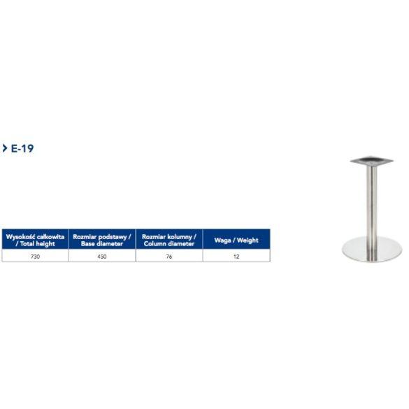 Asztalláb E-19