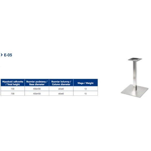 Asztalláb E-05