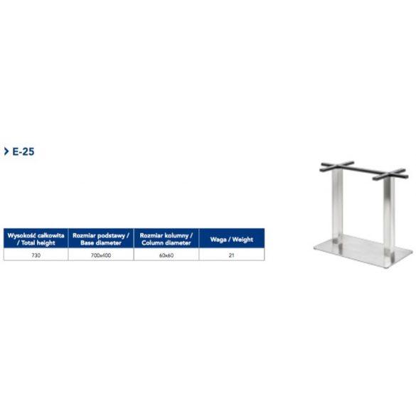 Asztalláb E-25
